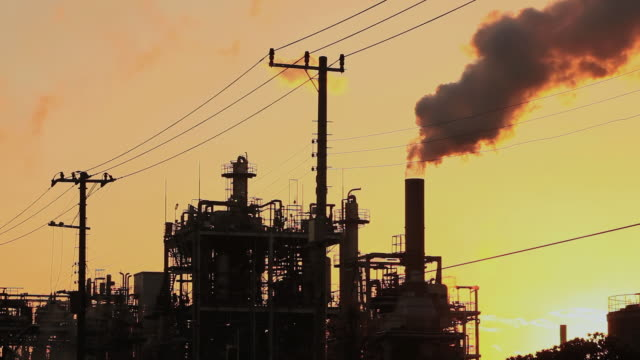 MS Chimney of chemical factory / Kawasaki, Kanagawa, Japan