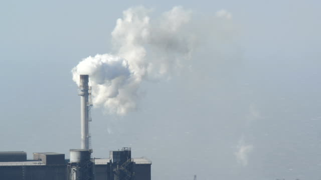 chimney stack - steel mill stock videos & royalty-free footage