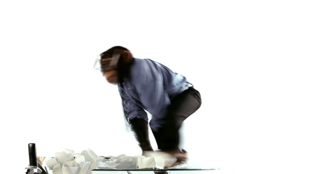 Chimp Clerk Mad Jumps