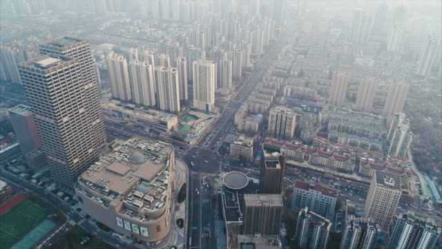 china aerial view - beijing stock videos & royalty-free footage
