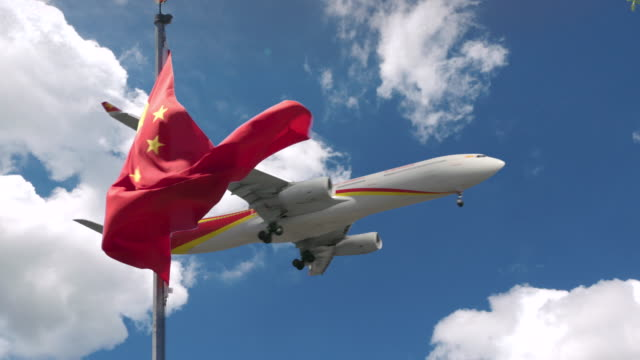 china airline - communism stock videos & royalty-free footage