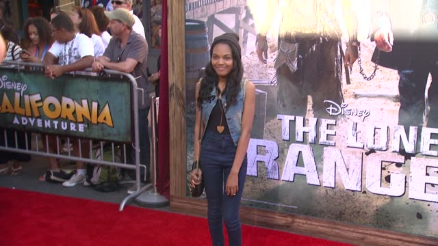 china anne mcclain at the lone ranger los angeles premiere china anne mcclain at the lone ranger los angele at disney california adventure park on... - filmpremiere stock-videos und b-roll-filmmaterial