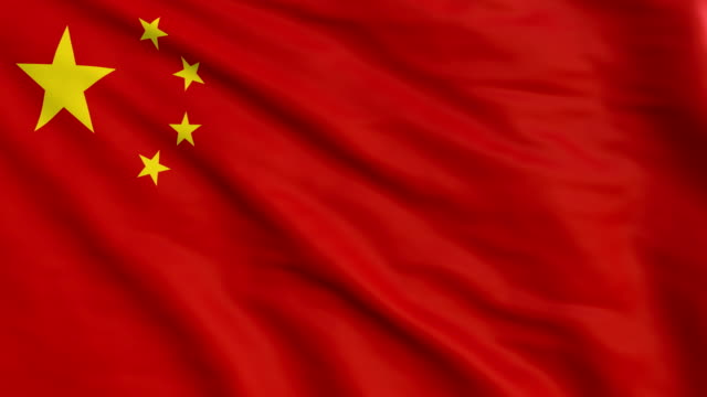 china flag animation 4k - chinese flag stock videos and b-roll footage