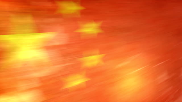 china flag - grunge. hd - frayed stock videos & royalty-free footage