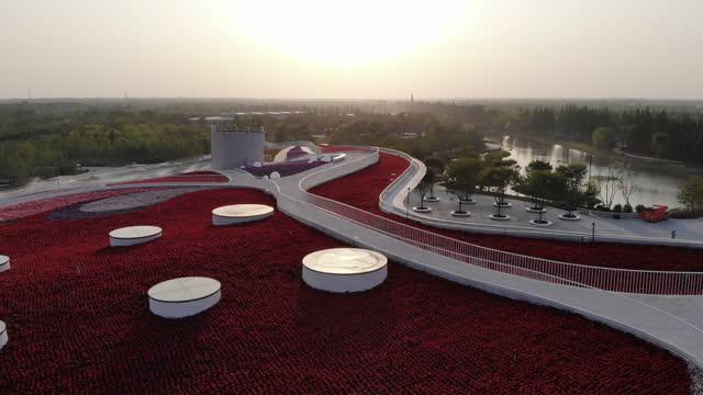 china flower expo - メルセデスベンツファッションウィーク点の映像素材/bロール
