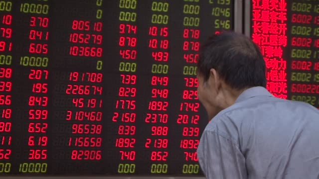 china hails the acceptance of its stocks in a leading us based index of emerging market shares as a signal of confidence in the asian power's economy... - newly industrialized country stock videos and b-roll footage
