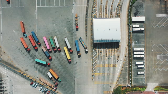 china import export, business logistic - harbor stock videos & royalty-free footage