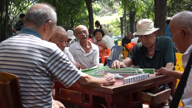 china is a fast aging society with high pressure in medical care pension management and social security - social security stock videos & royalty-free footage
