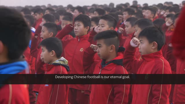 china isn't known for being one of the great footballing nations but it's now breaking transfer fee records signing premier league players and firmly... - china east asia stock videos & royalty-free footage