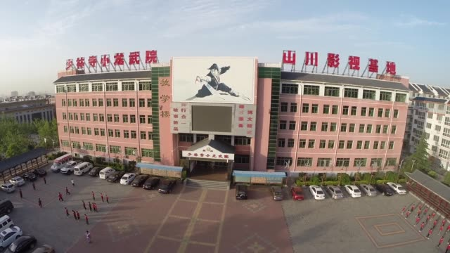 china - kung fu school building - chinese culture stock videos & royalty-free footage