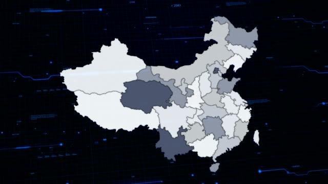 China network map