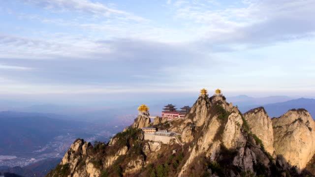 China Heilige Taoïstische laojun Mountain tempels