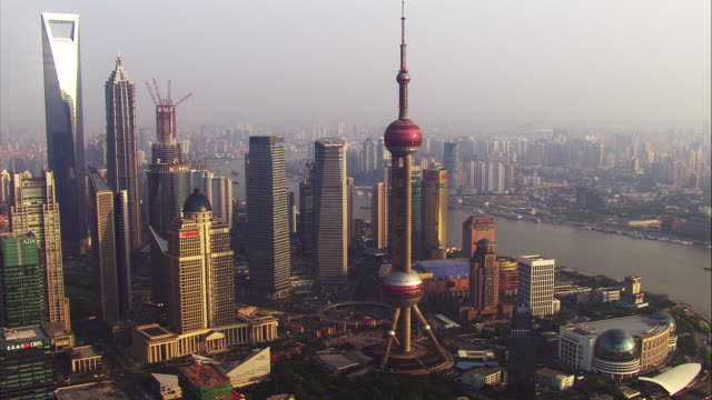 china, shanghai: cityscape - shanghai stock videos and b-roll footage