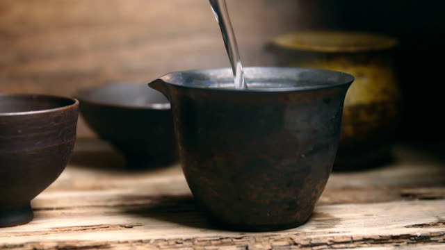 china traditional tea - teapot stock videos & royalty-free footage