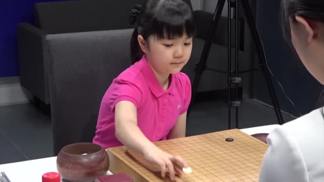 japan's youngest professional go player 10yearold sumire nakamura debuted in an international match in beijing on tuesday with her game being closely... - international match stock videos & royalty-free footage