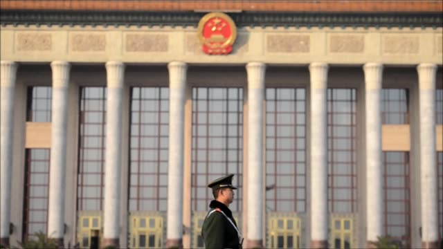 chinas all powerful communist party on thursday unveiled a new seven man leadership council steered by xi jinping to take command of the worlds... - communist party stock videos and b-roll footage