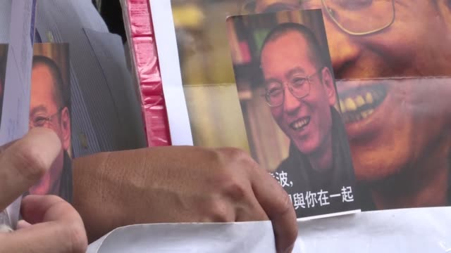 china's decision to invite us german and other foreign experts to treat cance stricken nobel laureate liu xiaobo in china is not enough former hong... - dozen stock videos & royalty-free footage
