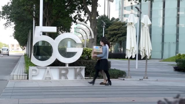 china's huawei has faced increasing scrutiny over its alleged links to chinese intelligence services prompting countries including the united states... - base stock videos & royalty-free footage