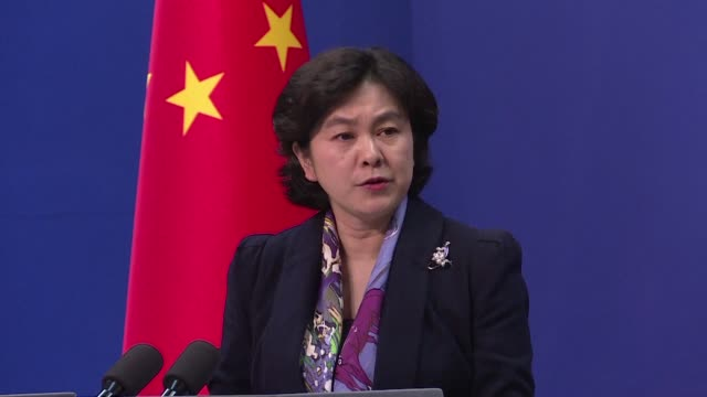 China's Ministry of Foreign Affairs spokesperson says she has not heard about the situation as a Canadian newspaper reports that a third Canadian...