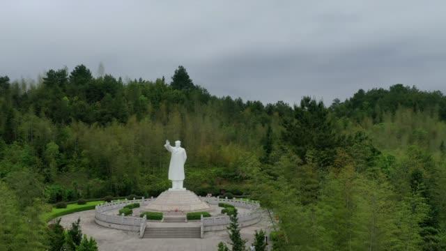 china's revolutionary holy land - the location of the gutian conference - kommunismus stock-videos und b-roll-filmmaterial