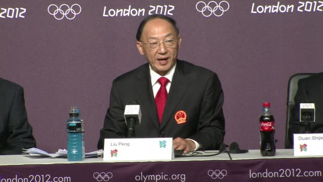 china's top olympic delegate slammed criticised the media on sunday for airing unfounded doping speculation about teenage swimmer ye shiwen after a... - record breaking stock videos & royalty-free footage