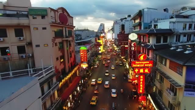 Chinatown, Bangkok by Drone