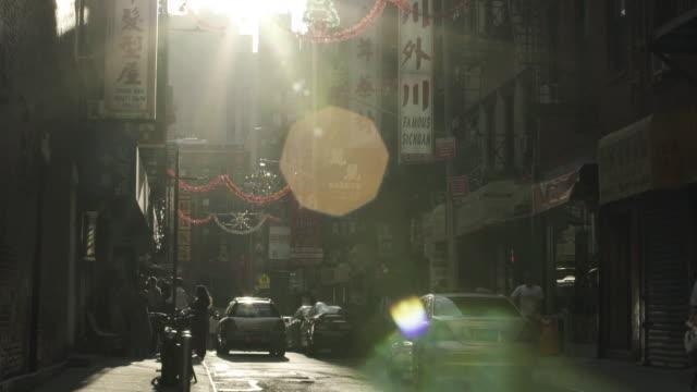 chinatown dusk - butiksskylt bildbanksvideor och videomaterial från bakom kulisserna