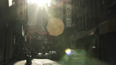 chinatown dusk - chinatown stock videos & royalty-free footage