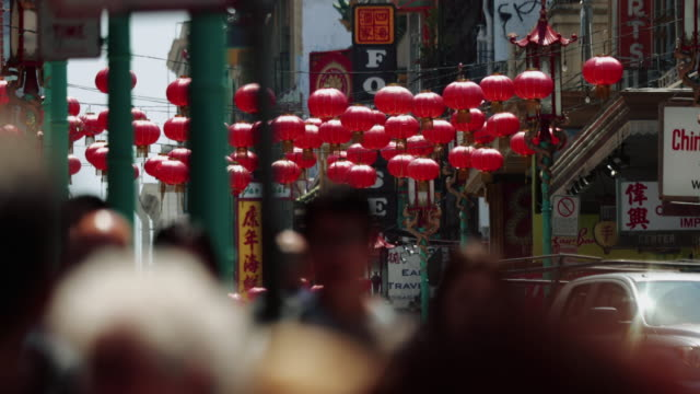 chinatown of san francisco - chinatown stock videos & royalty-free footage