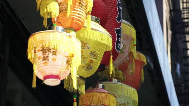 chinatown - tassel stock videos & royalty-free footage