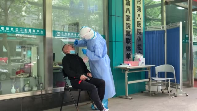 chinese companies are increasing production of coronavirus test kits as the country intensifies efforts to detect cases - beijing stock videos & royalty-free footage