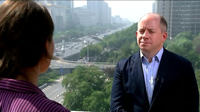 Chinese company Alibaba set to float on US stock market EXT Duncan Clark interview SOT