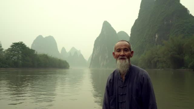 chinese cormorant fisherman series - cormorant stock videos & royalty-free footage