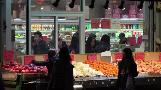 chinese food grocery store - heap stock videos & royalty-free footage