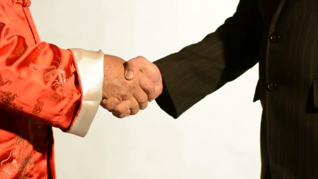 Chinesische handshake 1