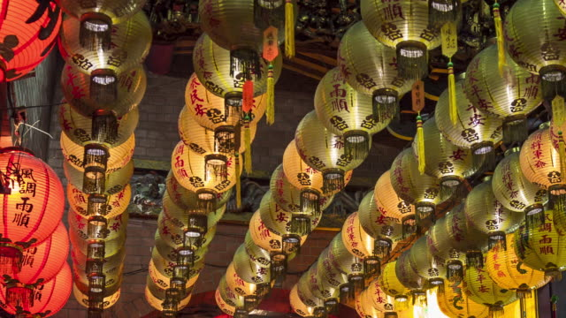 Chinese Hanging Lantern, Taipei, Taiwan