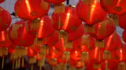 chinese lantern during chinese new year