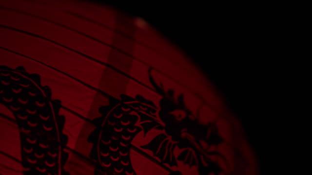 vídeos y material grabado en eventos de stock de linterna china - dragon chino