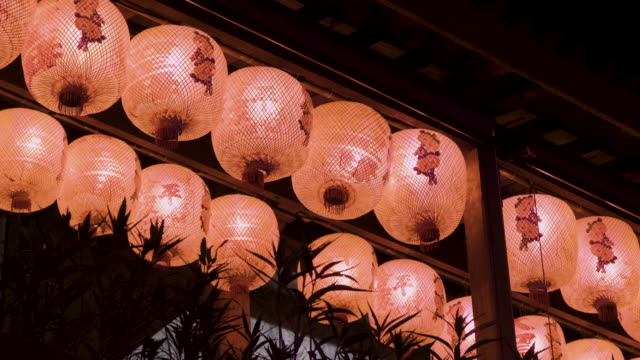 chinese lantern - sri lankan culture stock videos and b-roll footage