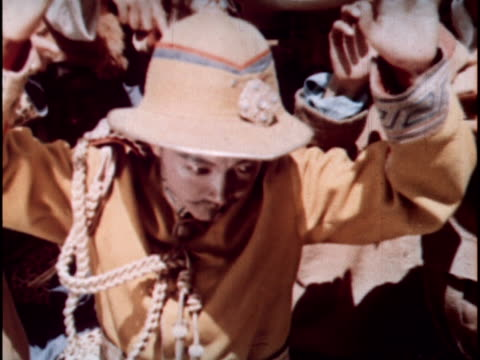 stockvideo's en b-roll-footage met chinese made propaganda film of post rebellion life in tibet - communisme
