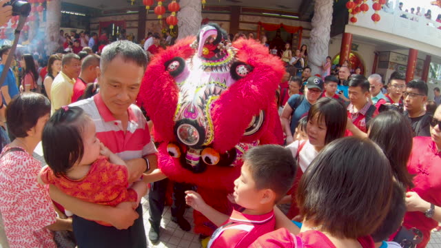 chinese new year in asia - kuala lumpur stock videos & royalty-free footage