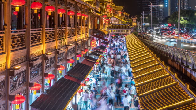 chinese new year - chinesisches laternenfest stock-videos und b-roll-filmmaterial