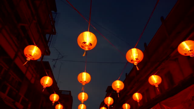 chinese new year - lantern stock videos & royalty-free footage