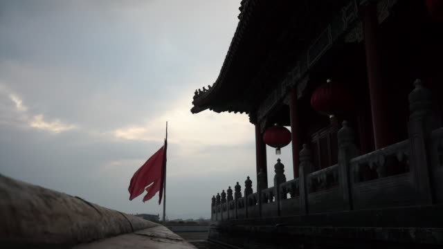 chinese palace - forbidden city stock videos & royalty-free footage