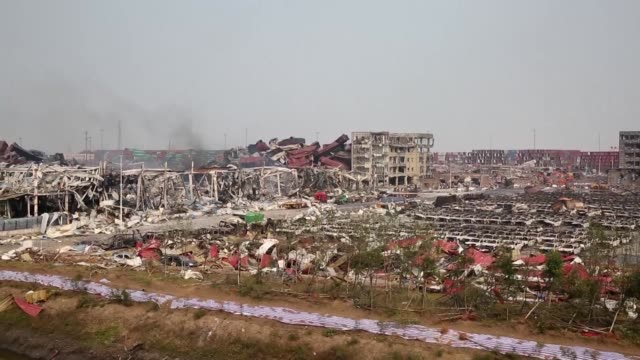 chinese police arrest 12 people over giant explosions that killed 139 people and devastated a swathe of a chinese port city state media say as... - tianjin bildbanksvideor och videomaterial från bakom kulisserna