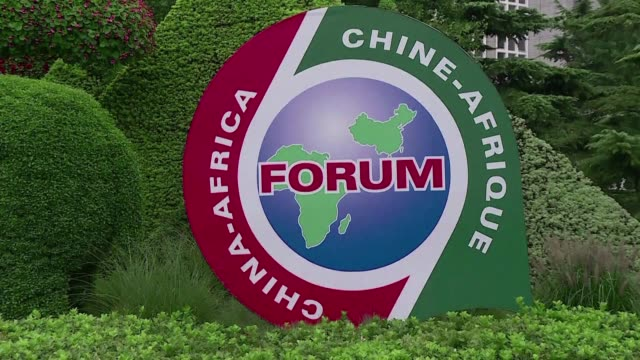 vídeos de stock, filmes e b-roll de chinese president xi jinping and african leaders are holding a two day forum on china africa cooperation with talks expected to focus on xi's... - cinto