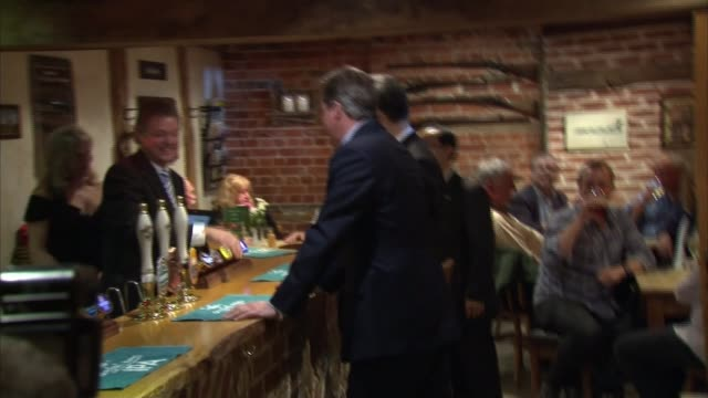 Chinese President Xi Jinping and David Cameron visit pub near Chequers during state visit ENGLAND Buckinghamshire Chequers EXT David Cameron MP and...