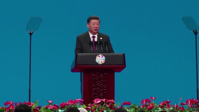 Chinese President Xi Jinping declares there is no clash of civilisations and denounces racial supremacy as stupid amid tensions with the United...