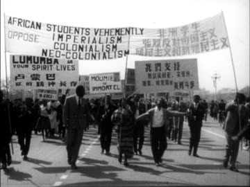 chinese produced cultural survey of 1961 china - equality stock videos & royalty-free footage