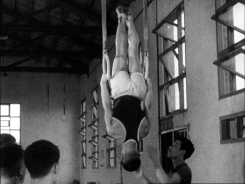 chinese produced cultural survey of 1962 china - sports hall stock videos & royalty-free footage